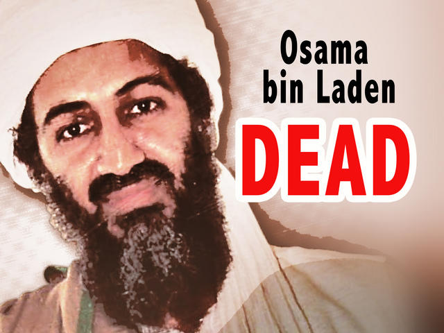 Osama Way Back. What a way to start a week.